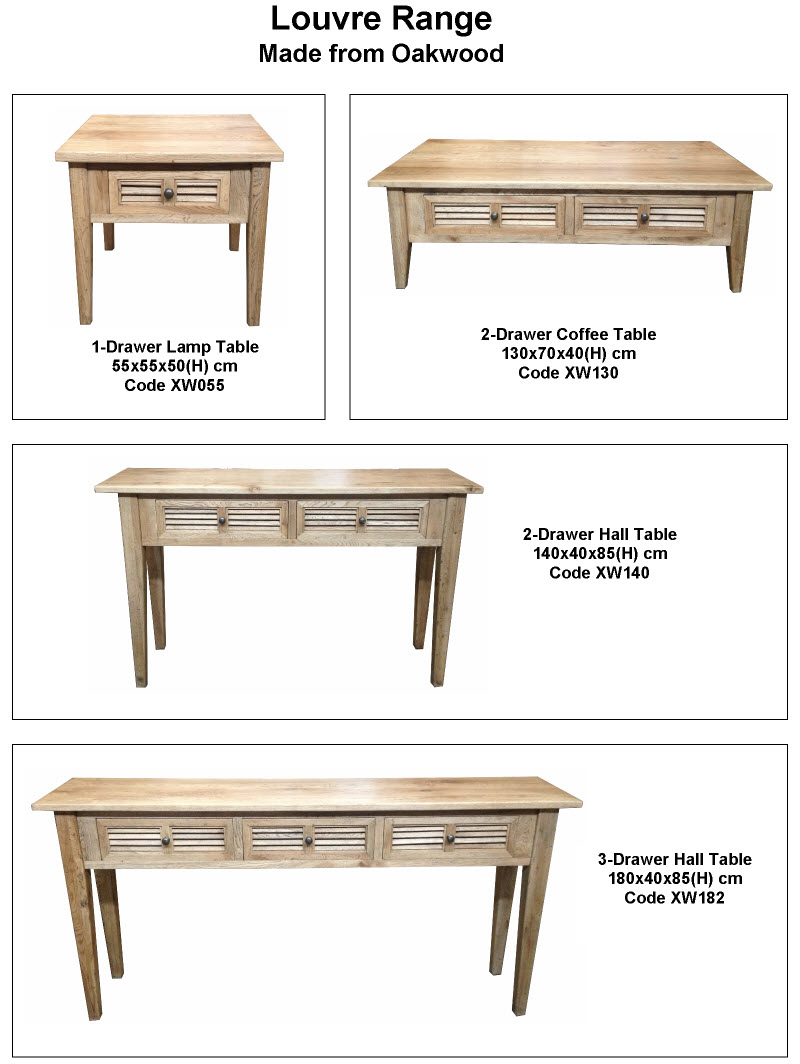 A range of solid quality oak timber furniture pacific for Furniture at the range